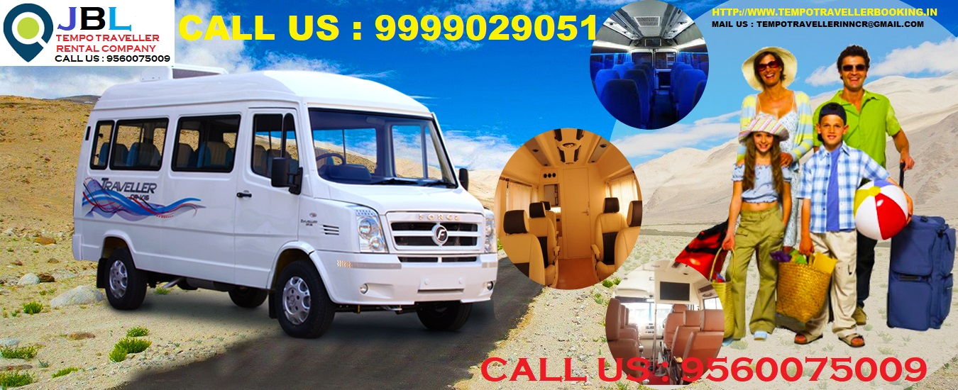 Tempo traveller on rent in Sector 82 Noida